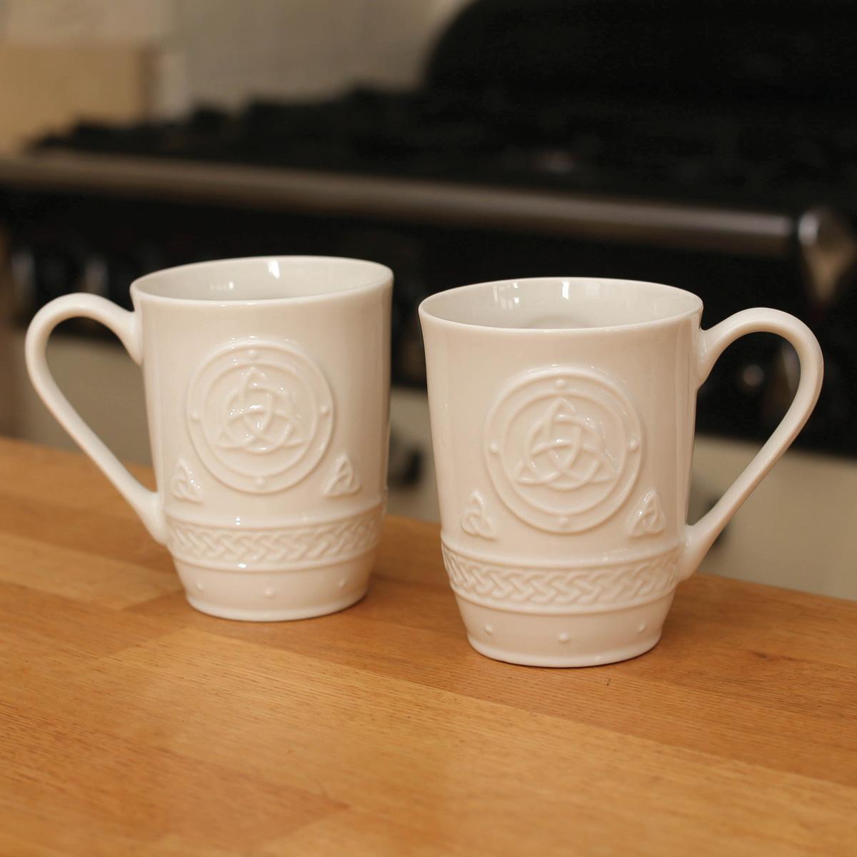 Clearance Sale Belleek Celtic Mugs