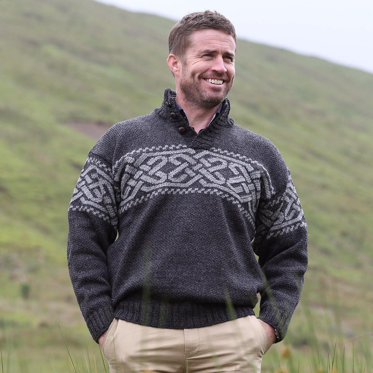 Clearance Sale Celtic Knot Sweater