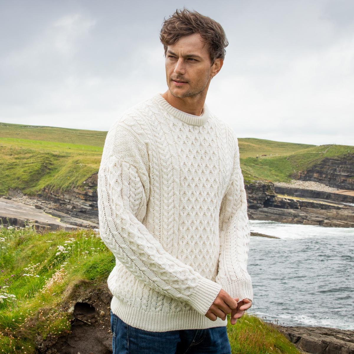 Aran sweater Irish gifts for him