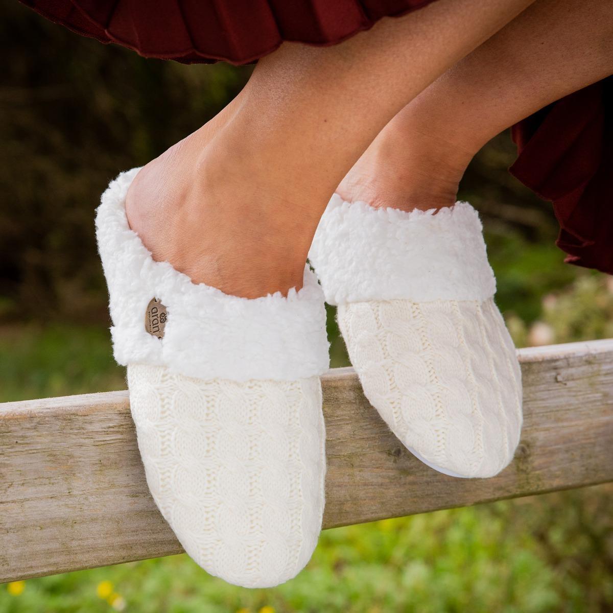 Cozy slipper Irish gifts for her