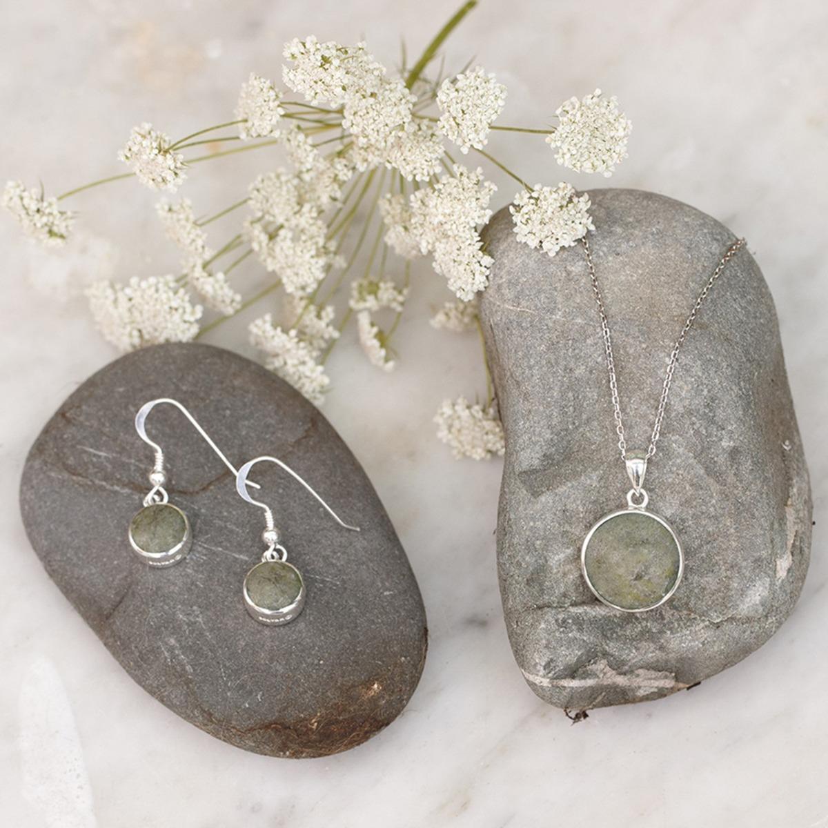 Connemara Marble jewelry set