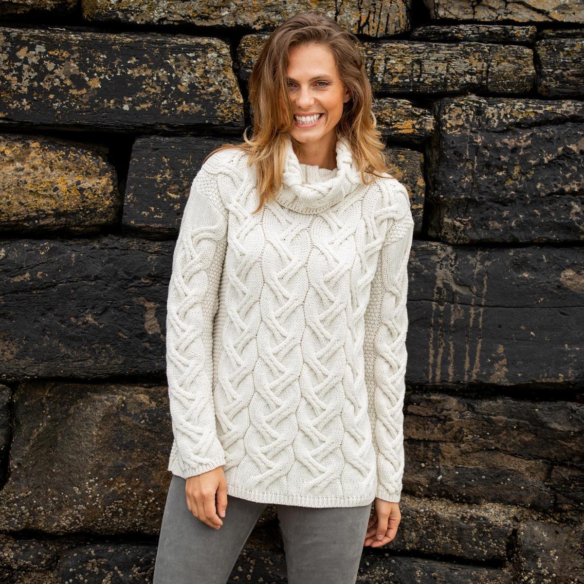 Comeragh sweater- Aran knitwear gifts