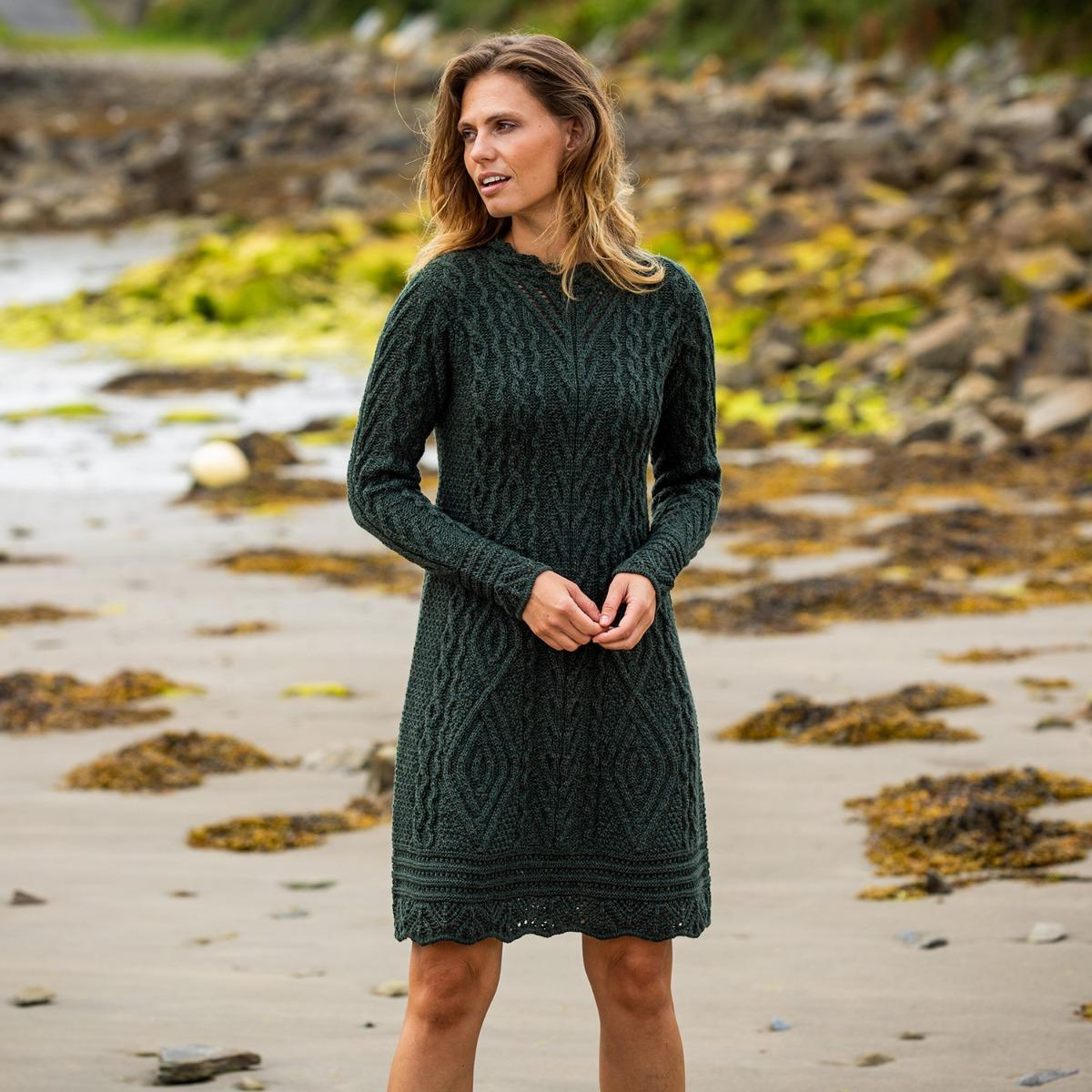 Glenmore Aran Dress-Exclusive Collection